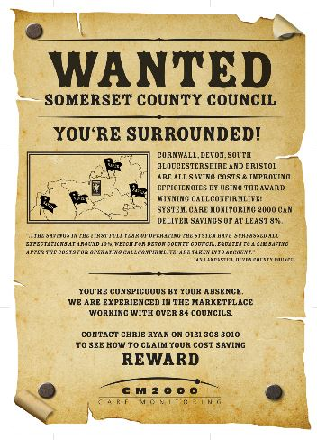 Wanted Campaign Front